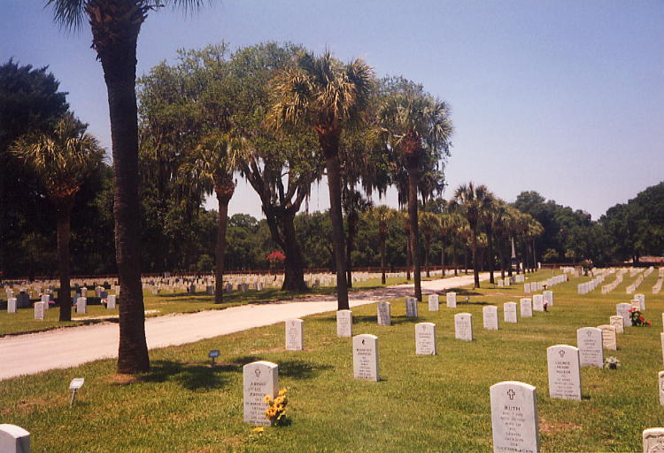 The Beaufort National Cemetery