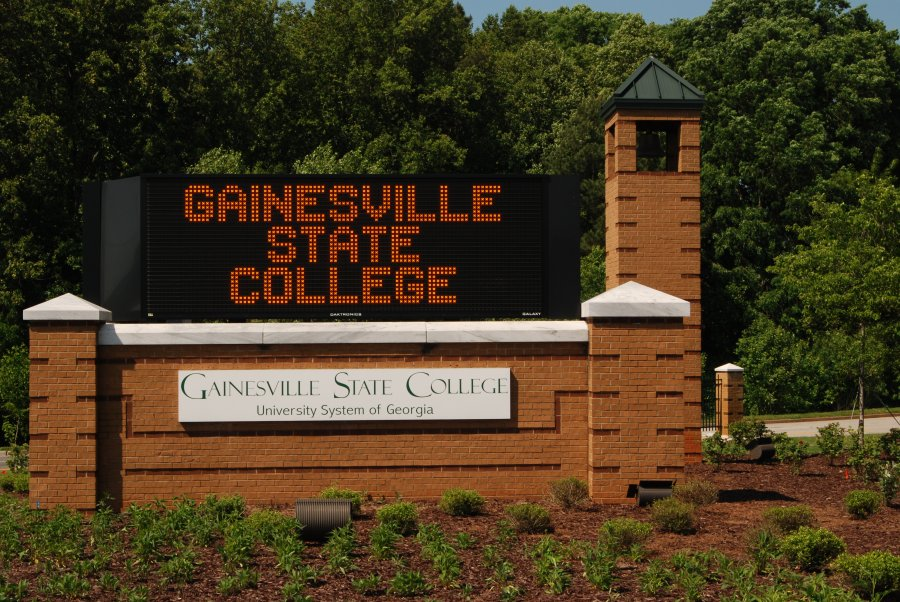 Gainesville State College; Campus Utility Map